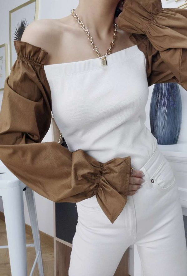 insta-girl-top-col-bardot-manches-bouffantes-brown-1